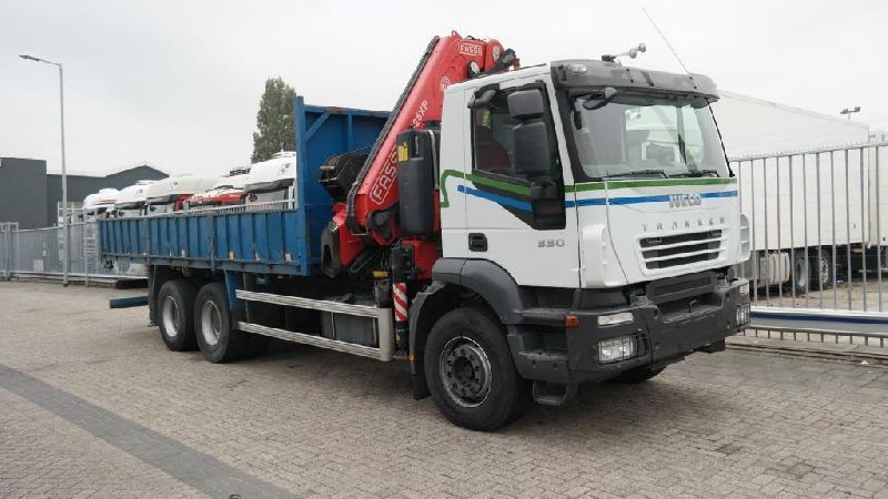 Iveco s hydr.rukou